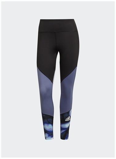 adidas Adidas GS3918 W Uforu Fb78 Ti Logo Baskılı Dar Renkli Kadın Tayt Siyah